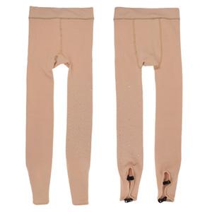 2pcs extensible Figure / glace / PATINAGE Collants Leggings avec Buckles pour Bottes