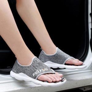 2019 été nouveau style de la jeunesse coréenne style tendance plage chaussure respirante-ethnique Cool Style Toe Split Casual Slipper hommes de