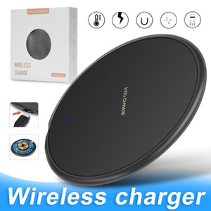 KD-20 Nuovo 10W Wirelss Fast Charger Qi Quck ricarica Aadapter per iPhone Pro 11 Max XS XR Wireless Charging Pad per Samsung