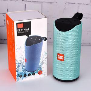 TG113 10W FM Radyo Kablosuz Müzik Kolon Taşınabilir Bluetooth Hoparlör Outdoor soundbar Stereo Surround ses Kutusu TF Bas boombox woofer DHL