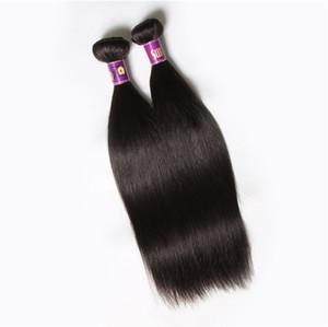 Unverarbeitetes brasilianisches Jungfrau-Haar gerade 6 Bündel 100g / pcs Preiswerte brasilianische gerade Haar-Einschlagfäden 100% Remy rohe reine menschliche Menschenhaar