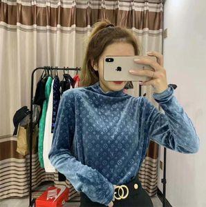2019 Nueva Otoño Web Celebrity Undershirt apretado largo atractivo de la manga de la camiseta interior y el desgaste Fuera de manga larga súper cómodo envío