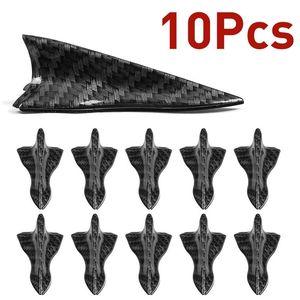 10pcs Car-styling de aleta de tiburón kit difusor spoiler de techo del ala Generador parabrisas Vortex Para parabrisas parachoques RoofSpoiler