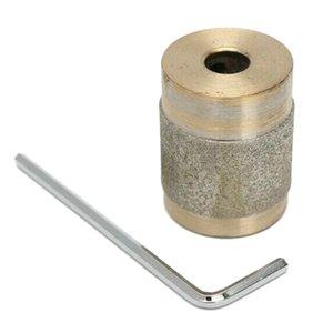 1 polegadas de diâmetro padrão de diamante Grinder Copper Bit Tool for vitral Grinding