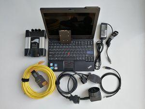 Para BMW ICOM ICOM SIGUIENTE Nueva Generationof A2 + B + C Soft-ware en SSD portátil X201t i7 herramienta de diagnóstico auto del coche de la tableta envío libre