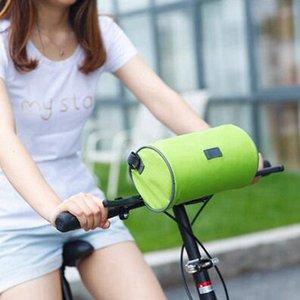 Bastidor de la bicicleta para la cabeza superior del tubo impermeable de la pantalla táctil de la bici bolsa de almacenamiento móvil Teléfono de ciclo del bolso Bolsas Accesorios MTB RRA3127N