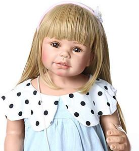 87cm 34.5inch cuerpo completo de silicona inteiro regalos de bebé Vida Boneca Renacido niño Bebés Reborn regalos de la muñeca de los niños Juguetes