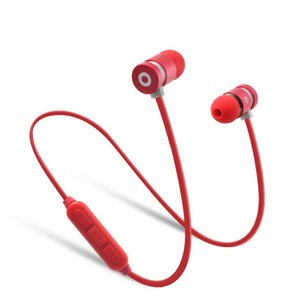 20pcs Metal Sports Earphone Bluetooth Headphone Sweat Proof Magnetic Earpiece Stereo Wireless Headset for Mobile Phone