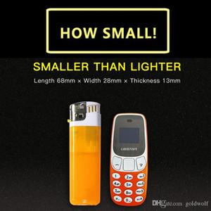 جديد سوبر ميني BM10 بلوتوث اللاسلكية سماعة المسجل هاتف محمول باليد سماعة L8STAR مقفلة المزدوج سيم بطاقة الهاتف المحمول مصغرة