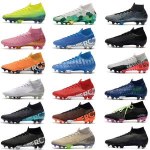 2020 Yeni Mercurial Superfly 7 Elite SE FG Neymar Ronaldo Erkek Futbol Profilli En ucuz Futbol Ayakkabı ACC Erkek Futbol Boots Scarpe Da Calcio