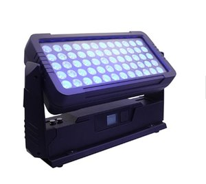 60 * 10W RGBW 4in1 City Color Led Uplight IP65 Outdoor Led Wall Washer City Color Club Bar Ip65 mur VOYANT LAVAGE