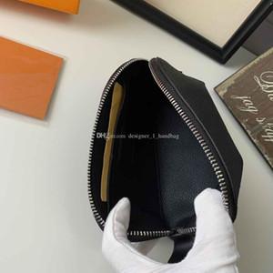 Klassische Blume Design Element Damen Kosmetiktasche Reißverschluss Handtasche Runde Tasche mit Kastenkörper PVC Material Kupplung Tasche Brieftasche Sieben Farben
