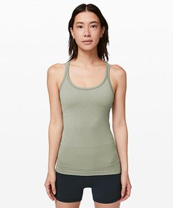 LU-13 Women Yoga Ebb To Street Tank II Classic Y-shaped Seamless Vest With Chest Pad Workout Gym Backless Running Fitness Sports Shirts