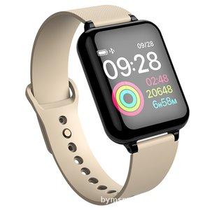 KY11 ultra-finas esportes pulseira 2019 novos transfronteiriços e da moda tela colorida e bracelete de produtos eléctricos inteligentes