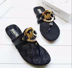 Новый стиль летняя обувь женские сандалии модные квартиры сандалии шлепанцы модные тапочки Большой размер 35-42 Бесплатная доставка