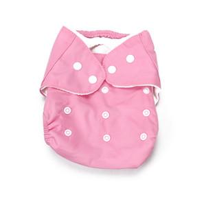 1 ADET Yenidoğan Bebek Alva Bezi Bezi Kapak Kullanımlık Yıkanabilir Yıkanabilir Cep Sevimli Nappy Ayarlanabilir Yumuşak Rahat Bebek Bezi Kapakları