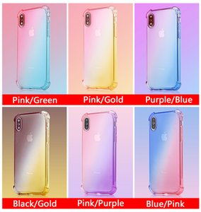 Hot Sale TPU Soft Case Shockproof Phone Cases Cover For iPhone 6 6s 7 8 Plus XS MAX XR