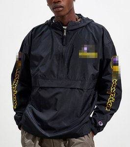 2020 Designer De Alta Qualidade Jaqueta Mens Marca Zipper Blusão de vento Designer de Casaco Thin Sweatshirt Homens Casacos De Luxo Camisolas Streetwear 20041004L