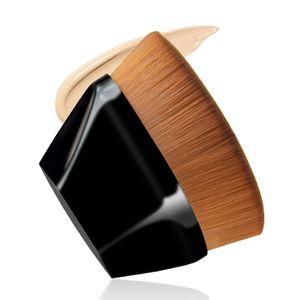 No. 55 Magic Foundation Brush 다이아몬드 모양의 메이크업 브러쉬 직업적인 다각형 윤곽 블렌딩 화장품 메이크업 브러쉬