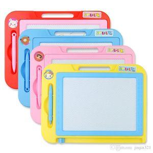 Buntes magnetisches Zeichenbrett Spielzeug für Kinder Farbe Reißbrett magnetischer Schreibtafel Baby Baby Kind Spielzeug Früherziehung Hand pai