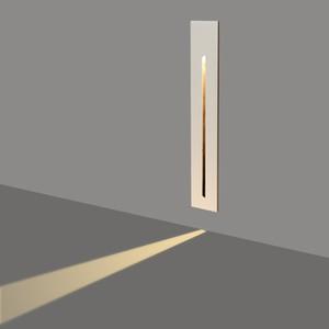 Утопленный 3W светодиодный лестничный свет прямоугольник AC85-265V внутренний угол настенные светильники ступенчатые лампы лампы прихожей лестницы