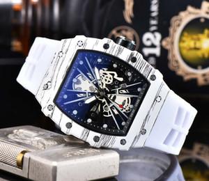 2020 Nuova RM modo degli uomini di sport orologio al quarzo multifunzione data automatico cinturino in gomma Orologio cronografo relógio de Pulso Montre Homme miglior regalo
