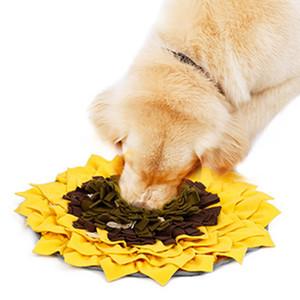 Mascota snuffle Mat, Mat Alimentación para perros, entrenamiento del perro mascota oler Pad Mat