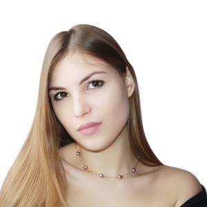 Ashiqi Reale 925 Collana In Argento Sterling 7-8mm Reale Naturale Collana di Perle D'acqua Dolce Bianco Perla Gioielli Per Le Donne Regali J190701 J190702