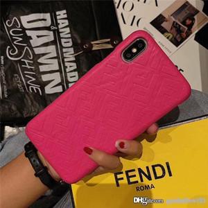 Luxus-Abdeckung für IPhone XSMAX XR X XS 6 7 8 Plus Haut Abdeckung Mode-Marken-Frauen Designer-Telefon-Kasten