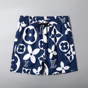 Atacado Moda Verão Shorts New Designer Quick-seco Shorts Impresso Praia Pants Men Mens Swim Shorts solto Versão 88