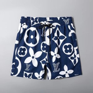 Großhandel Summer Fashion Shorts New Designer Quick-dry Shorts Printed Strand Hosen Männer Herren Badeshorts lose Version 88