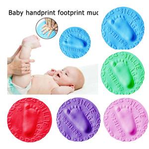 5pcs Air Drying Clay Baby Handprint Footprint Imprint Kit Casting Mould Keepsake
