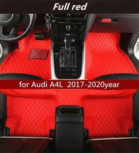para Audi A4L 2017-2020year antideslizante no tóxico del cojín del pie del coche del cojín del pie