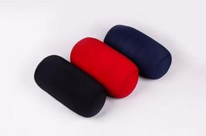 Almohada para colgar del rodillo 30 * 16 CM Micro Mini Almohada para microesferas Almohada para el cuello del rollo Almohadas para viajes Textiles para el hogar