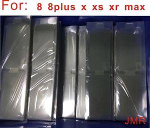 100Pcs Yeni Ön Koruyucu Film Fabrikası Film iPhone 11 11pro 11max 5 6 7 8 6S Plus X XR XS MAX Ekran Koruyucu Güvenlik