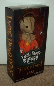 "New Classic Living Dead Dolls Trick'r Trick Treat Sam 2016 Figurine Toy Model 10"" Collection originale"