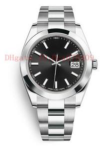 Multi stile di alta qualità Mens Watch 41 millimetri Presidente Datejust Asia 2813 movimento meccanico automatico orologi originali Chiusura