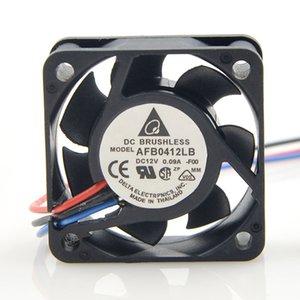 DELTA AFB0412LB 4015 12 V 0.09A velocidade de três fios CPU ultra-silencioso ventilador 4015 12 V 0.09A ventilador de refrigeração axial