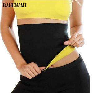 Cintura BAHEMAMI embarazada postparto de las mujeres de la talladora del cuerpo del condensador de ajuste de la cintura que adelgaza la correa de maternidad Deportes Fajas Faja del corsé