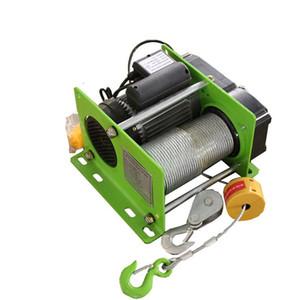 Treuil électrique micro de grue de câble métallique treuil électrique