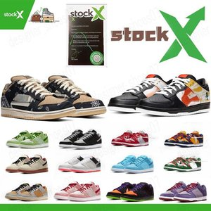 SB Dunk white off causual shoes men women travis scotts sb dunks low Raygun Tie Dye 2020 VALENTINE DAY new designer sneakers trainers