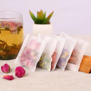 Environmental Natural Corn Fiber Folding Tea Bag PLA Biodegraded Tea Filters Herbal Tea filter bags 100pcs lot