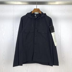 Topstoney 2020SS Nuova primavera e in autunno il tempo libero retrò konng gonng camicia Cappotto Maglia con cappuccio cappotto shirt tendenza degli uomini e donne