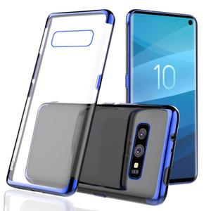 Pour iPhone X XS Max XR 78 Revêtement souple transparent Gel couvercle transparent TPU silicone pour téléphone Samsung S10 PLUS S10e