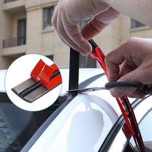 14/19 millimetri auto sigillo Strips Vetture Seal Protezione Porta bordo del parabrezza Tetto gomma sigillanti Striscia di rumore di isolamento Car Styling