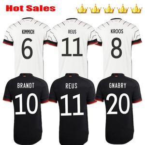 Men + Kids kits 2020 REUS SANE WERNER DRAXLER 20 21 home away soccer jersey MULLER KROOS GE HUMMELS BOATEN RMANY jerseys football shirts
