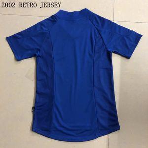 FRANCESS RETRO 2002 MAILLOT DE FOOT soccer jersey Football Jersey shirt away