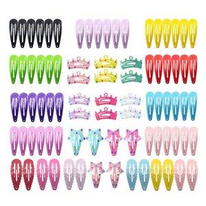 Ins 2020 84pcs set cute baby BB clips crown girls barrettes designer hair clips designer baby girl hair accessories B1058