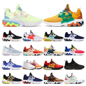 2020 react presto BEAMS men sneakers running shoes arely Volt Track Red DHARMA PANDA Breezy Thursday women breathable trainers sport runners