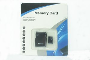 2019 top 128GB 256GB 64GB 32GB Micro TF card memory card With Adapter Blister Generic Retail Package 25pcs